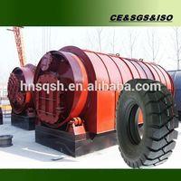 Multi-function waste plastic/ tyre to diesel equipment