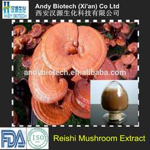 Polysaccharides 40% Natural Ganoderma Lucidum Mycelium Extract Powder