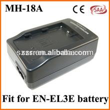 MH-18A digital camera portable battery charger for nikon el3e