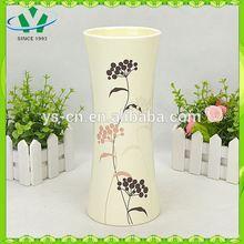 blue and white 6 color glazed table vase centerpieces vases ceramic flower vase decorative ceramic vaseYSv0158-01