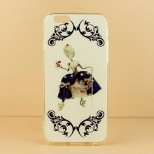 Unique new soft tpu cute image printed design mobile phone case for iphone5