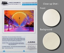 Removable Self-adhesive White Canvas W-009 for Inkjet Printing