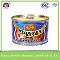 hot produtos china wholeale conservas de carne de porco fábrica de produtos