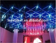 China factory price Snowfall DMX RGB crystal meteor tube light for disco,night club,DJs