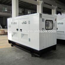 diesel fuel less 100kw soundproof generator