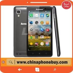 "Lenovo P780 with 5.0"" MTK6589 Quad Core Android 4.2 1280x720p 1GB RAM 4GB ROM 8.0MP Camera Original Smart Phone Lenovo P780"