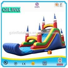 2015 {Qi Ling} custom inflatable pool toys,funny inflatable pool toys,lake inflatables slides