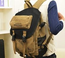 Travel backpack shoulders canvas bag FOR men/women travel /on business