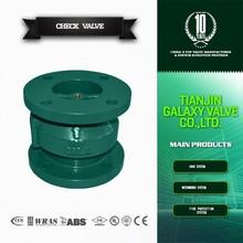 cast iron flange globe type check valve
