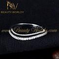 de la boda de oro anillo de diseño más reciente de la moda anillo de la joyería