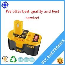 ryobi electrical power tools 18v Nimh battery 2.0ah ABP1801,ABP1803, BCP1817/2SM Style