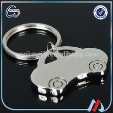 wholesale soft enamel car key chain with logo