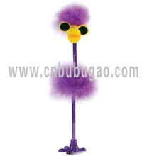 Popular fancy fluffy feather pen, plush pen from Bubugao pen-making