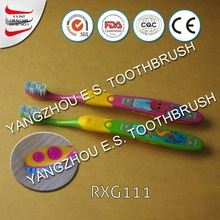 extra soft toothbrush/kid brushing teeth/dinosaur toothbrush for kids