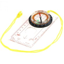 Baseplate Ruler Scouts Camping Hiking Orienteering All in 1 Map Scale Compass