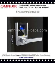 Digital RFID card fingerprint smart door lock D-7010 for government