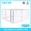 outdoor black welded square tube dog cage