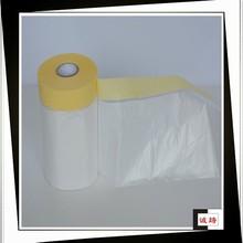 Multi-function wholesale HDPE paintable car masking film