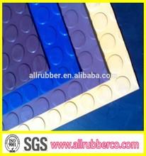 3mm thickness anti slip coin rubber flooring mat