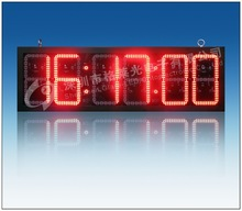 88:88:88 led car clock outdoor red color good quality