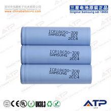 durable samsung icr18650-30b li ion battery / rechargeable 3000mah battery 3.7v
