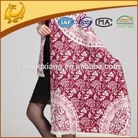 OEM custom factory price multi-usage kashmiri shawls stoles