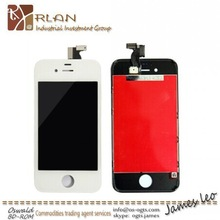 China wholesale complete display for iphone 4 touch