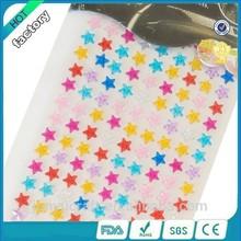 Wholesale Acrylic Stars Sticker Colourful Acrylic Stars