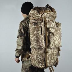 Factory best selling 100 liter waterproof backpack for hiking