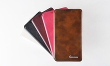 Luxury PU leather mobile phone case for Huawei ascend g620s, flip wallet back cover case, cell phone case for Huawei ascend g620