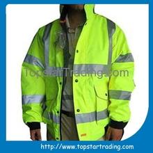 Hot sale Winter reflective safety jacket reflective jacket