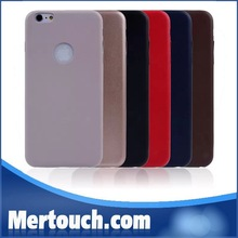 New arrival Hot sale Solid Phone case Ultra Thin cover Soft TPU cover for iPhone 6 plus 5.5