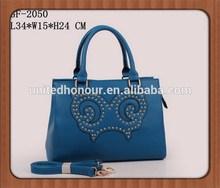 2015 women fancy and elegant handbag,ladies tote bag made in China