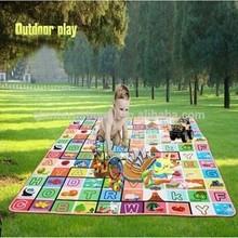 2015 New material waterproof kids rug baby pad playmat