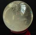 2.8kg 12.5cm roca natural de cuarzo transparente bola de cristal