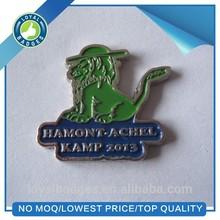 Metal soft enmel custom animal lapel pins