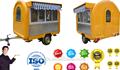 Jancole ce aprovado jc-3320 original estruturado móvel trailer alimentos/bebida carrinho de venda/caminhão lanche