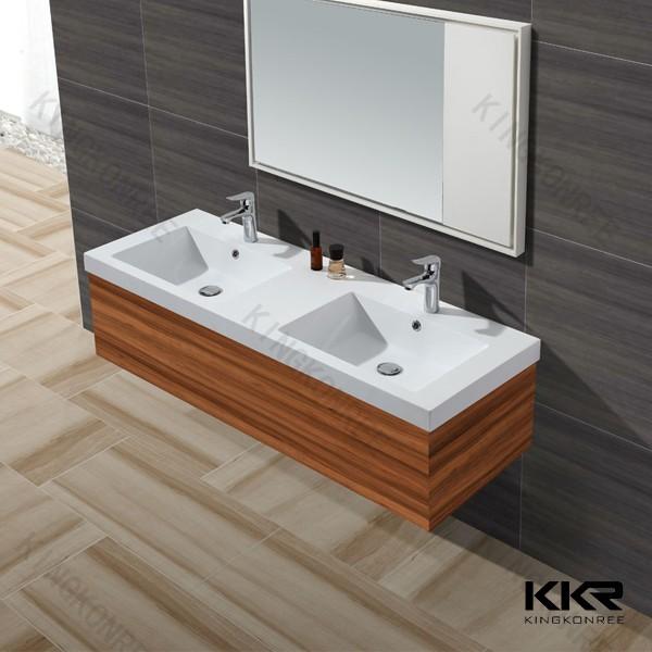 2015 populair nieuw design dubbele wastafel badkamer wastafel aanrecht badkamer wastafels - Badkamers bassin italiaanse design ...