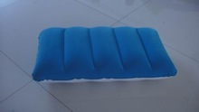 EN71 pvc beach inflatable pillow blow up cushion for pool party