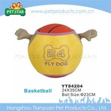 Fancy design basketball cat toys sponge balls