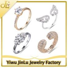 Fine Jewelry 2015 Trendy Fashion Diamond Engagement Ring Wedding Ring