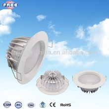 LED down lamp accessories,9w,4 inch,round,aluminum hardware component,China factory manufacturing