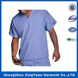 cheap price male\'s fashion medical scrub top