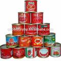 Línea de producción de todo tipo de puede de pasta de tomate