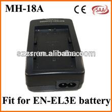 factory camera battery charger mh-18a for for nikon el3a el3e