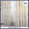 moda de papel de aluminio cenefa cortinas para la luz de la prueba