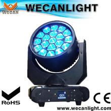 on sale 19x12w b-eye aura 4-in1-1 rgwb led mini moving head wash