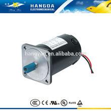OD100mm high torque Permanent Magnet Brushed Dc Motor 24V, 36V, 40V, 48V, rated power 50w, 75w, 100w, 125w, 200w, 250w, 500w