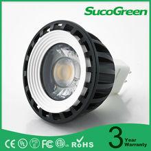 2700K 6000K 5W AC/DC12V LED spotlight Gu5.3