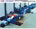 Cut To Length Line And Slitting Used To Straighten The Steel Coil And Leveler Machinery